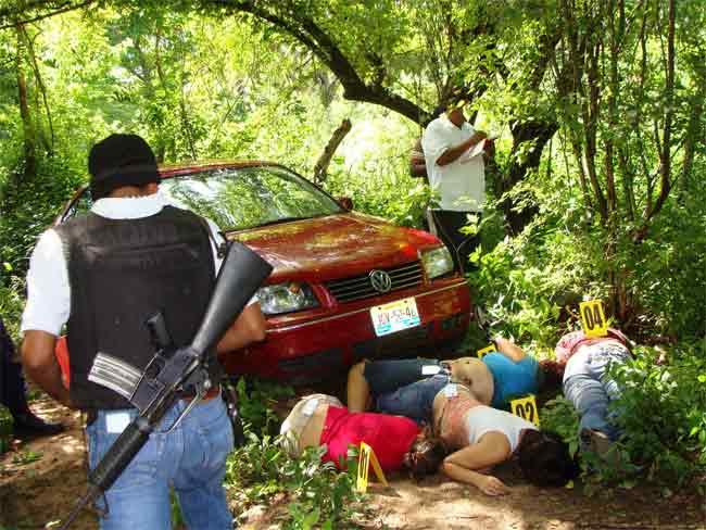 Asesinadas en México