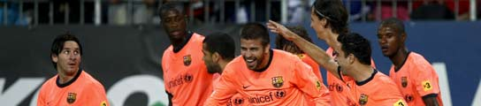 El Barça vence con sobriedad al Málaga y sigue colíder junto al Real Madrid  (Imagen: M. del P. / REUTERS)