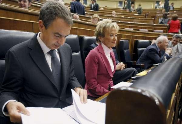 Zapatero en la sesión de control