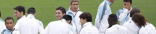 Pellegrini y los jugadores
