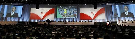 Sesión del COI en Copenhague