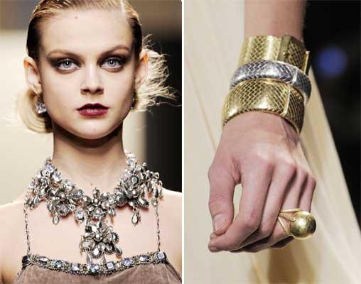 Las joyas de la pasarela