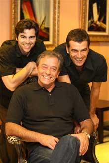 <p>Los actores de El Pez Gordo</p>