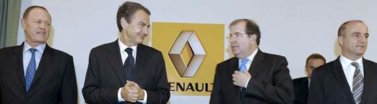 Renault garantiza el futuro de su fábrica en Valladolid al menos hasta 2020  (Imagen: Nacho Gallego / EFE)