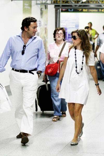 Alejandro Agag y Ana Aznar