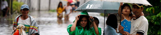 """Tifón """"Ketsana"""" en Filipinas"""