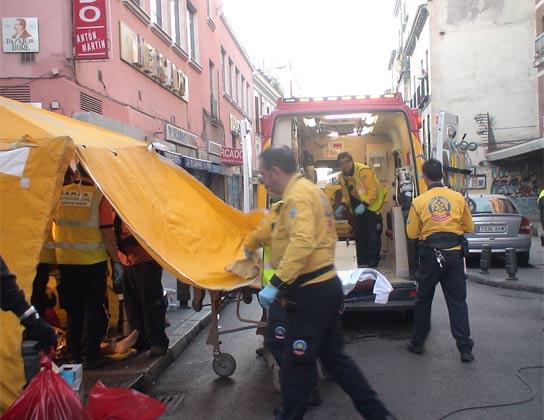 Apuñalamiento en Madrid