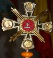 Relicario Lignum Crucis.