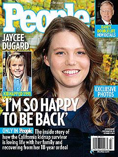 Jaycee Dugard, la joven secuestrada durante 18 años en EE UU.