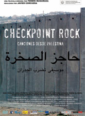 Checkpoint Rock. Canciones desde Palestina - Cartel