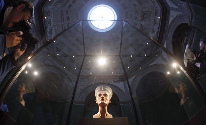 Nefertiti, reina de Berlín.