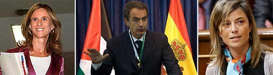 Garmendia, Zapatero y Aído