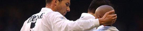 Zinedine Zidane y Roberto Carlos