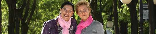 Chus Lacambra y Mari Carmen Ferreiro