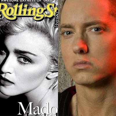 Madonna y Eminem