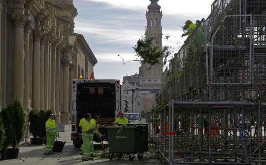 El Pilar generó más de 350.000 kilos de basura