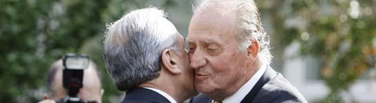 Don Juan Carlos dice que la paz en Oriente Pr�ximo es y ser� una prioridad de Espa�a  (Imagen: REUTERS)