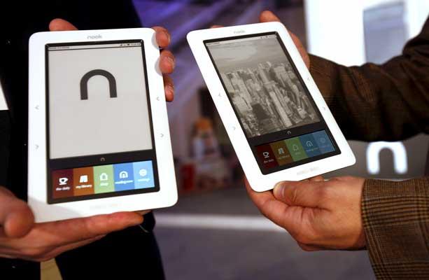 El nuevo rival de Kindle se llama Nook y tiene pantalla a color
