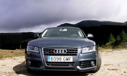 <p>Morro del Audi A5 Cupé.</p>