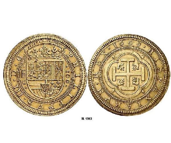 Centén segoviano de 1609