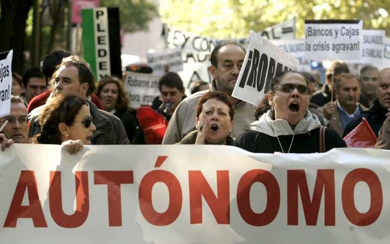 Manifestacion autonomos