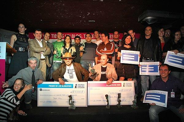 Los premios 20Blogs