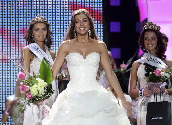 Yevgeniya Lapova, Miss Rusia 2009