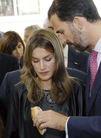 Los Príncipes inauguran el Parque Científico y Tecnológico Agroalimentario de Lleida.