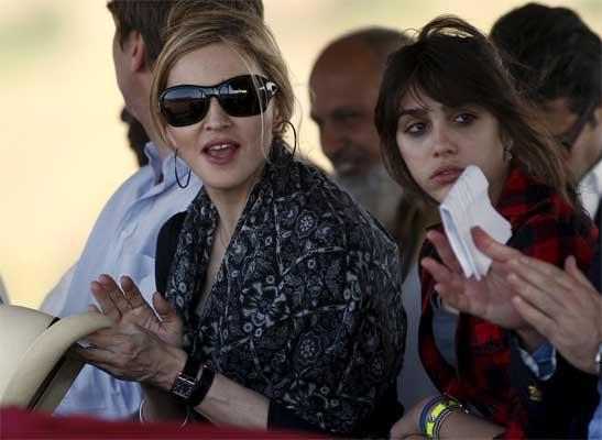 Madonna y Lourdes María