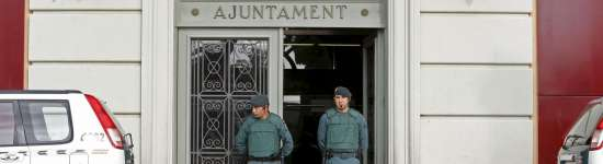 Operación contra la corrupción en tres consistorios catalanes.