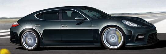 Imagen del Mansory Porsche Panamera