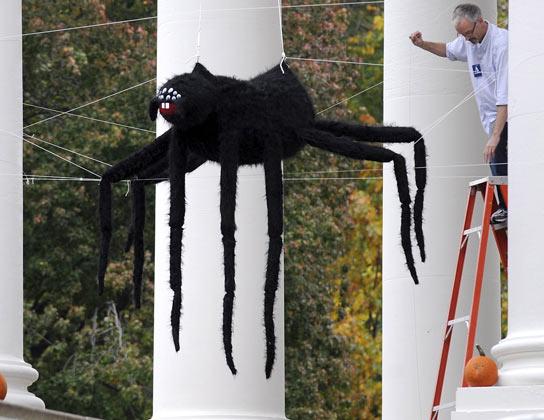 La Casa Blanca en Halloween