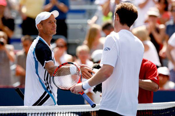 Nikolay Davydenko y Andy Murray