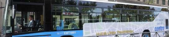Los autobuses de la EMT de Madrid dispondrán de conexión WiFi a Internet  (Imagen: MUNIMADRID)