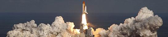 El 'Atlantis' despega hacia la Estación Espacial para una misión de 11 días  (Imagen: Pierre Ducharme/ Reuters)