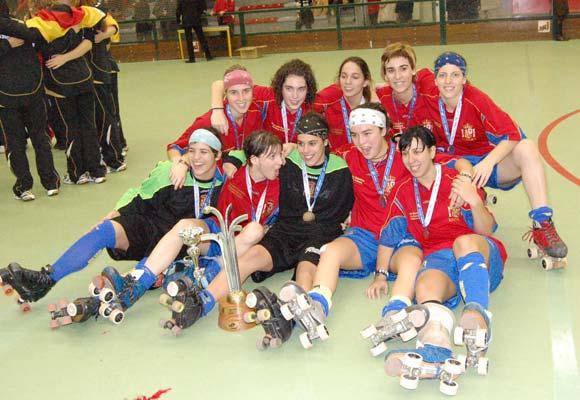 La selección española de hockey