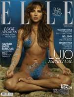 <p>Elsa Pataky en la portada de Elle</p>