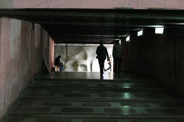 Pasos peatonales subterráneos