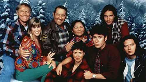 Algunos de los actores de 'Doctor en Alaska'