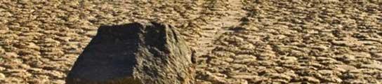 Piedras que se deslizan solas