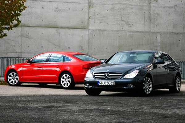 Mercedes-Benz CLS vs Audi A5 Sportback