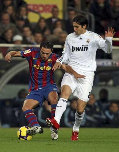 Xavi y Kaká