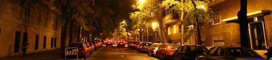 Mala iluminación en Madrid