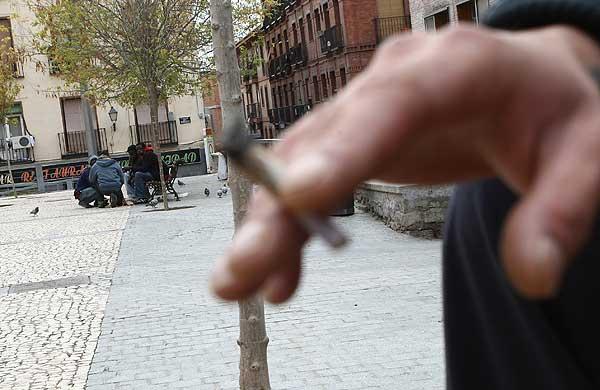 Venta de droga en Madrid