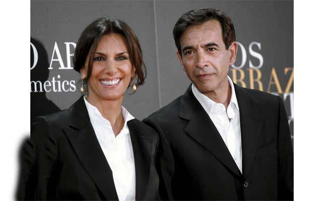 Pastora Vega e Imanol Arias