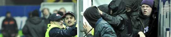 Cerca de cincuenta aficionados ultras interrumpen el Austria Viena - Athletic  (Imagen: EFE)