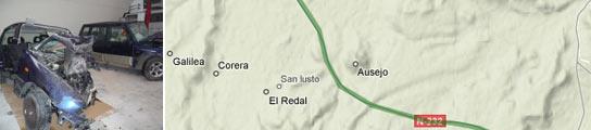 Dos muertos en un accidente en El Redal