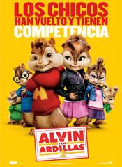 Alvin y las ardillas 2 - Cartel