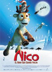 Nico, el reno que quería volar - Cartel