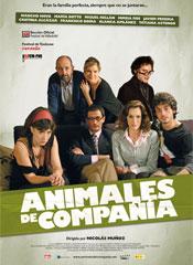 <p>'Animales de compañía' - cartel</p>